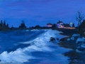 Night on the North shore, Coast Guard Station